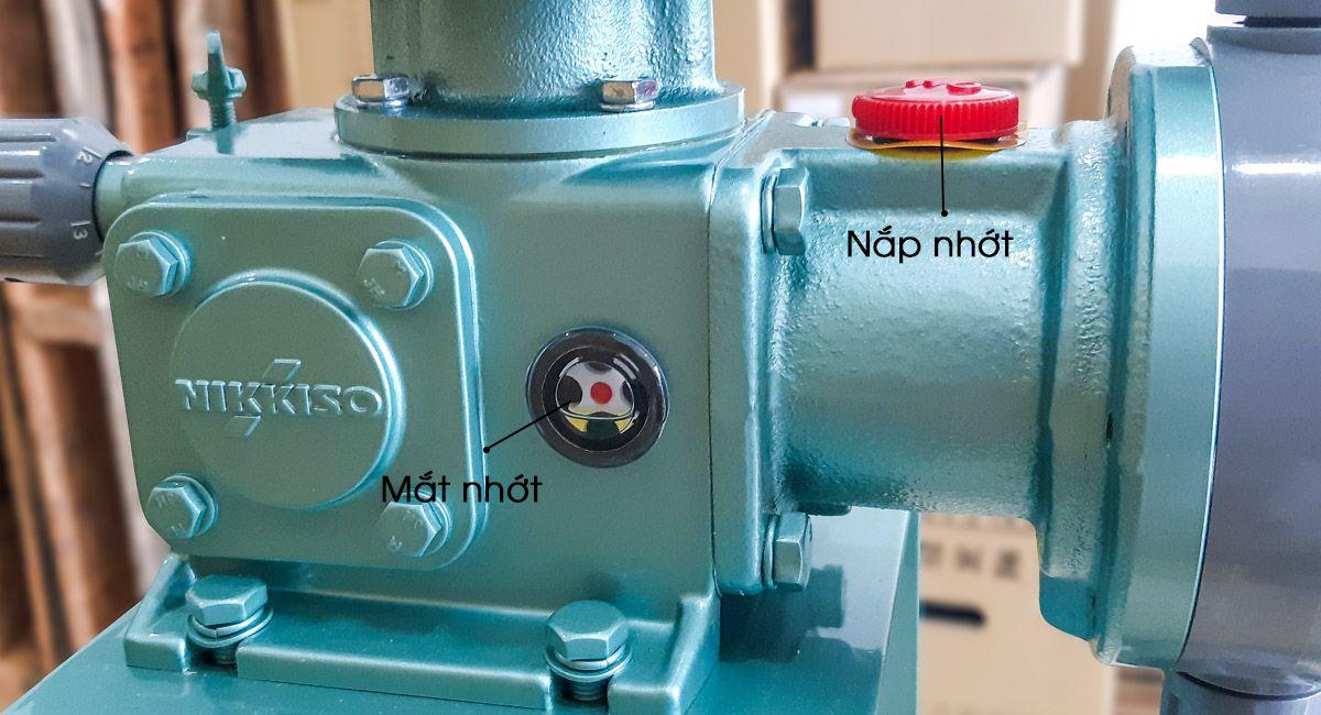 Kết cấu bơm định lượng hóa chất Nikkiso AHA32 PSF FN