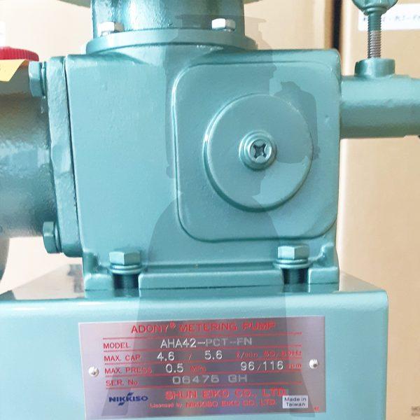 Thông số kỹ thuật bơm định lượng Nikkiso AHA42 PCT FN