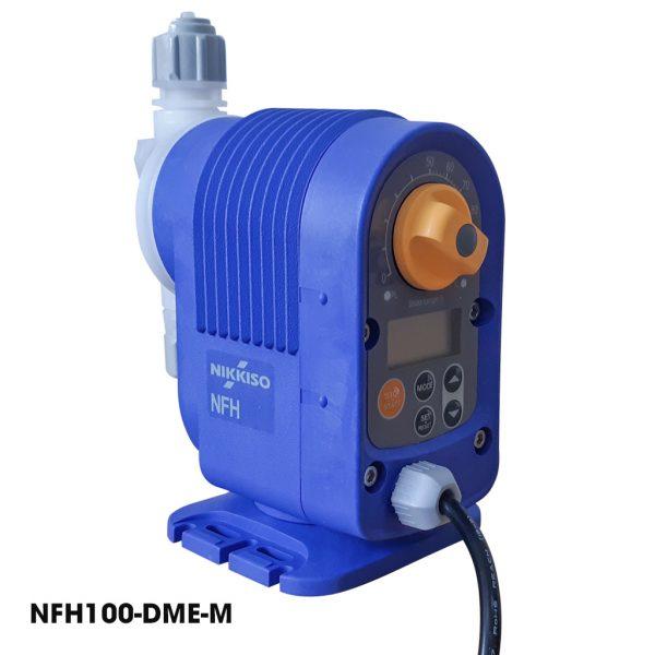 Bơm định lượng hóa chất Nikkiso NFH100 DME M được trang bị bộ điều chỉnh lưu lượng