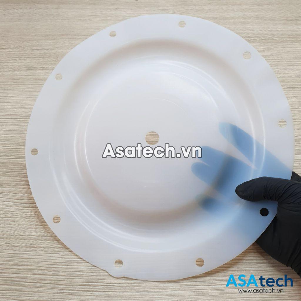 Màng bơm teflon sử dụng loại vật liệu cao cấp, chống ăn mòn cao, an toàn khi dùng cho thực phẩm.