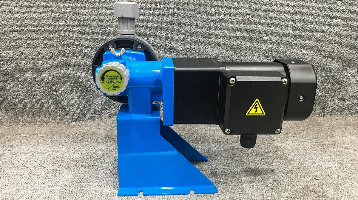 Bơm định lượng hóa chất Nikkiso BX100 PME H338K công suất: 90W