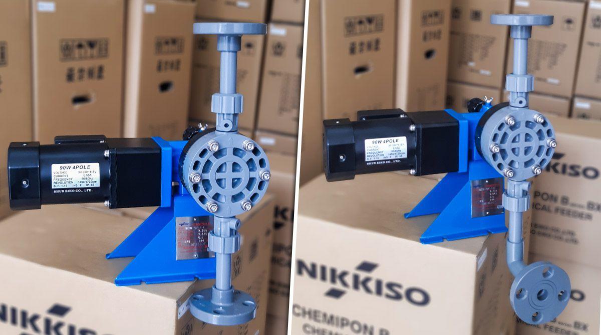 1 bên của Bơm định lượng nước thải Nikkiso