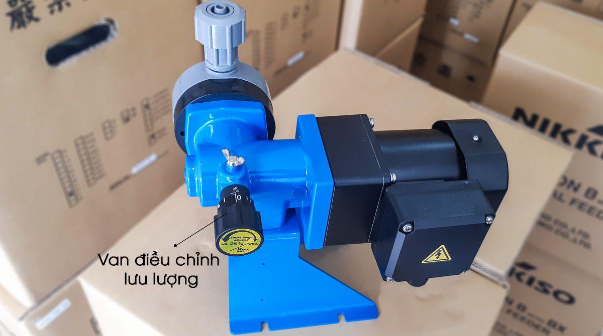 Van điều chỉnh lưu lượng của bơm định lượng hóa chất Nikkiso Bx30