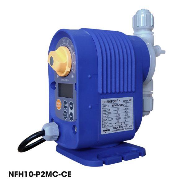 Bơm định lượng mini Nikkiso chuyên dùng bơm hóa chất xử lý nước thải