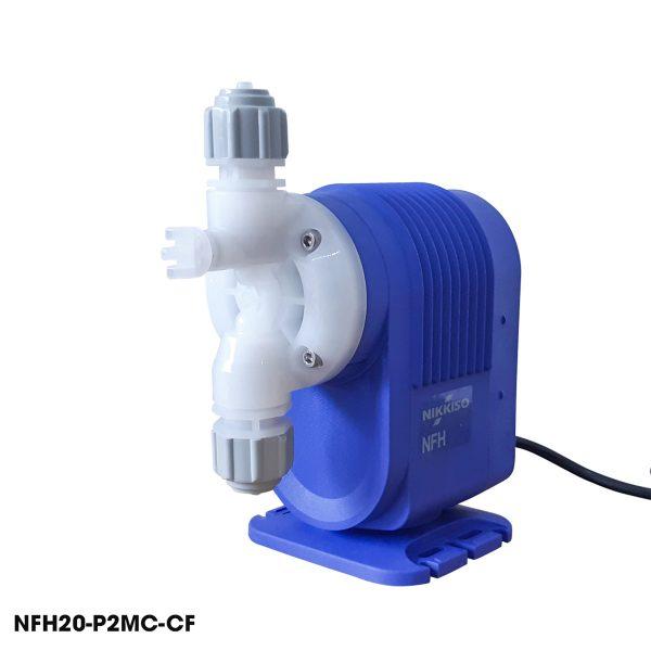 Máy bơm định lượng Nikkiso mini được dùng bơm hóa chất chất xử lý nước thải, bơm hóa chất xử lý nhà máy dệt, thép
