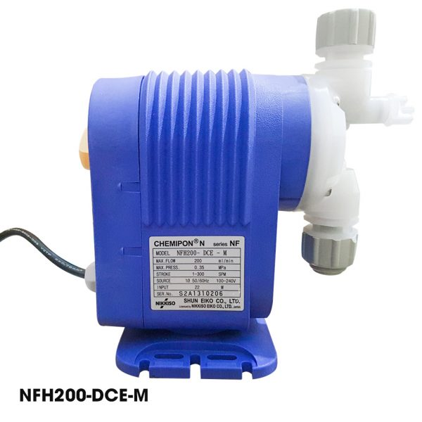 Bơm định lượng hóa chất Nikkiso NFH200 DCE M