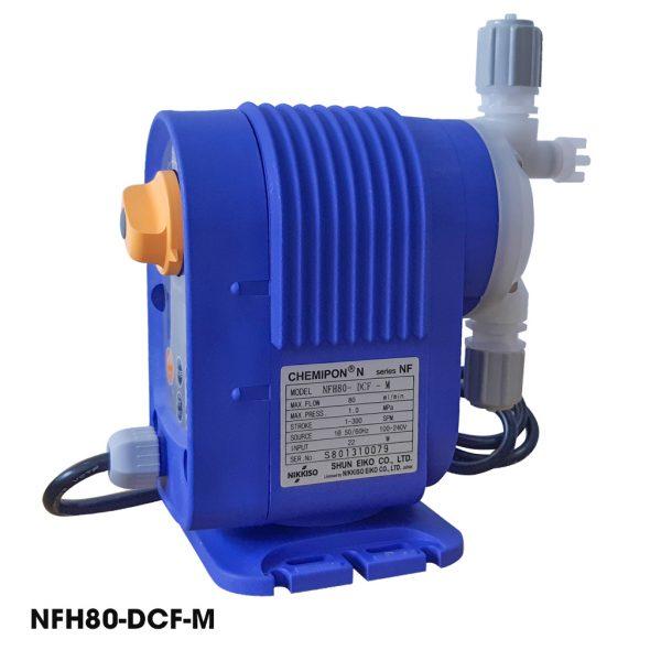 Bơm định lượng hóa chất giá rẻ Nikkiso NFH80
