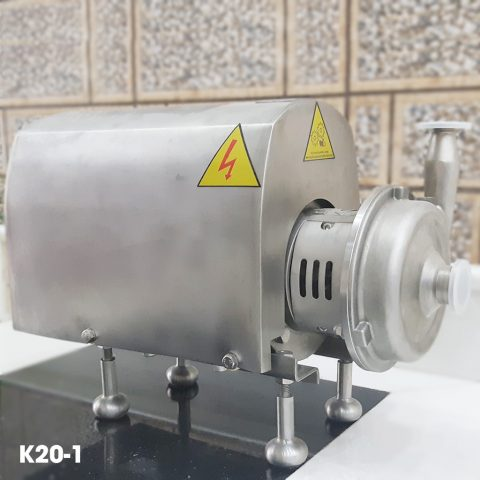 Bơm ly tâm trục ngang bơm thực phẩm Donjoy KS20-1, bơm thực phẩm