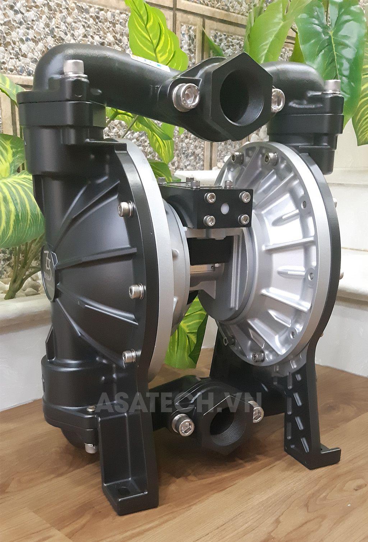 """Máy bơm màng khí nén Đài Loan TDS DS14-AAT-OOBO-02 - 1-1/2"""" (Aluminum - Santo) được ứng dụng rộng rãi trong bơm bùn, bơm nước thải..."""