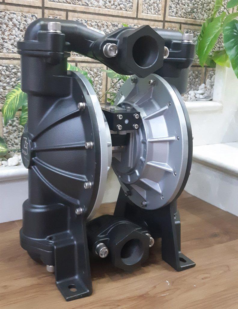 Bơm màng khí nén Đài Loan TDS DS20-AAT-TATS-02 có trọng lượng toàn bơm 28KG.