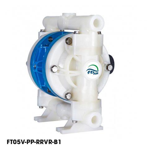 Bơm màng khí nén FTI 1/2'' FT05V-PP-RRVR-B1, bơm màng nước thải