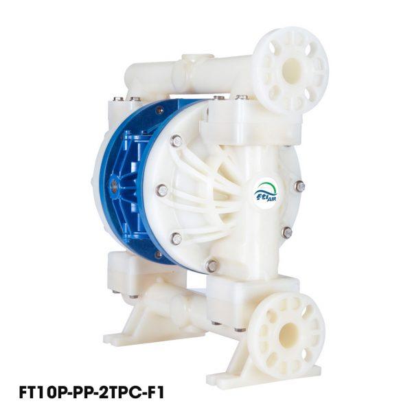 Bơm màng khí nén FTI FT10P-PP-2TPC-F1 là dòng bơm màng hóa chất