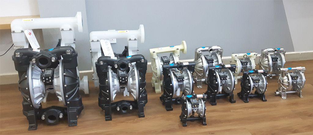 Các dòng sản phẩm của bơm màng TDS được cung cấp bởi Asatech.vn