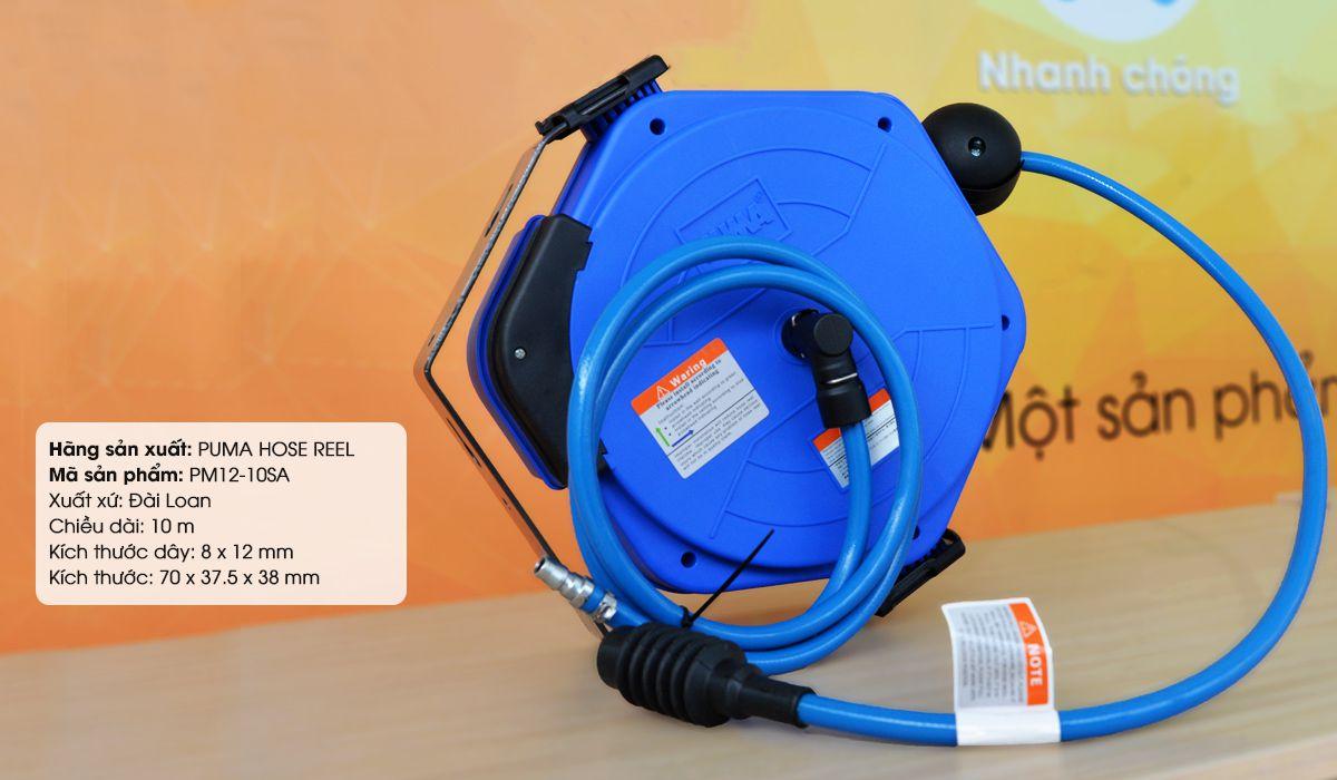 Cuộn dây hơi tự rút PM12-10SA