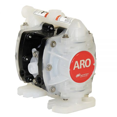 Máy bơm màng Aro PD01P-HPS-PTT-A là dòng máy bơm màng hóa chất của Mỹ.