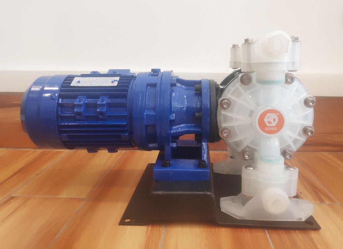 DBY3-25SFFF là dòng máy bơm màng chạy điện chuyên dùng bơm hóa chất