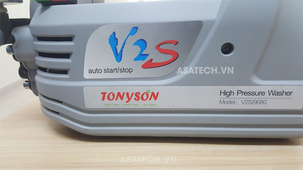 V2S là sản phẩm của TonySon, đơn vị sản xuất cho thương hiệu máy nén khí Puma - Đài Loan.