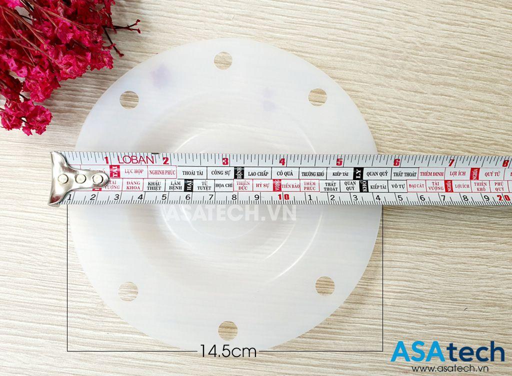 Màng bơm teflon Sandpiper 286-096-600 có đường kính bơm 14.5cm