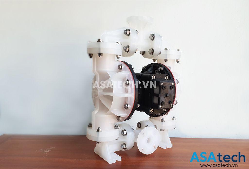 bơm màng khí nén Sandpiper S1FB3P1PPUS000 được ứng dụng rộng rãi trong sản xuất công nghiệp.