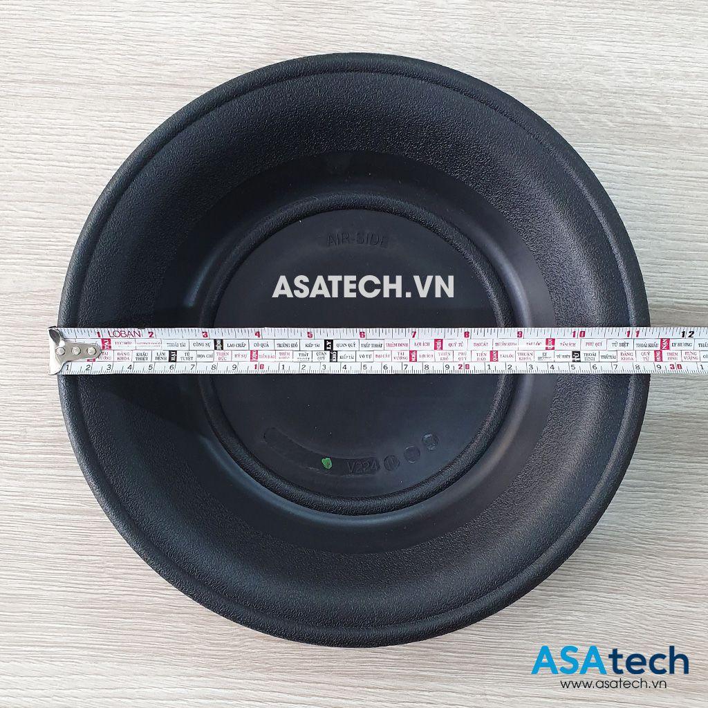 Màng bơm VersaMatic V224N có đường kính khoảng 29cm