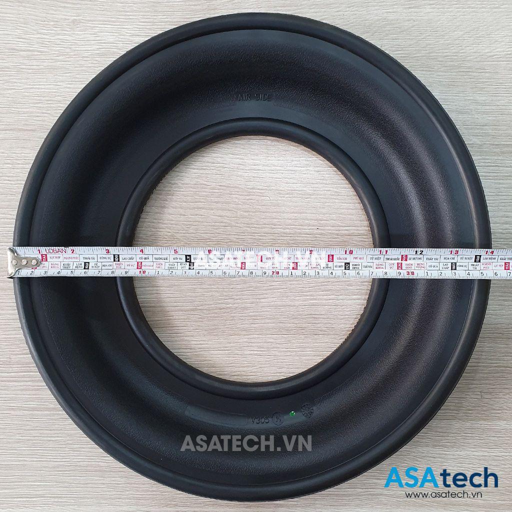 Màng bơm V305N có đường kính 36cm.