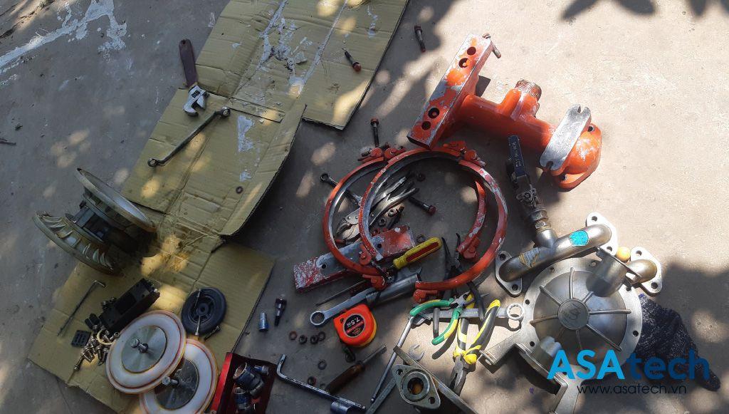 Dịch vụ sửa chữa bơm màng khí nén Wilden