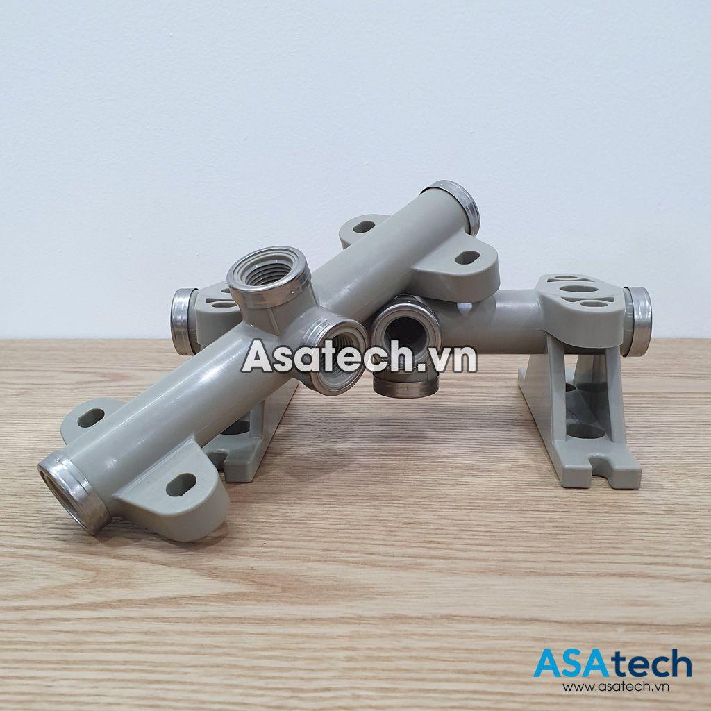 Asatech.vn cung cấp đầy đủ cổng hút - xả của dòng bơm aro 66605j Series