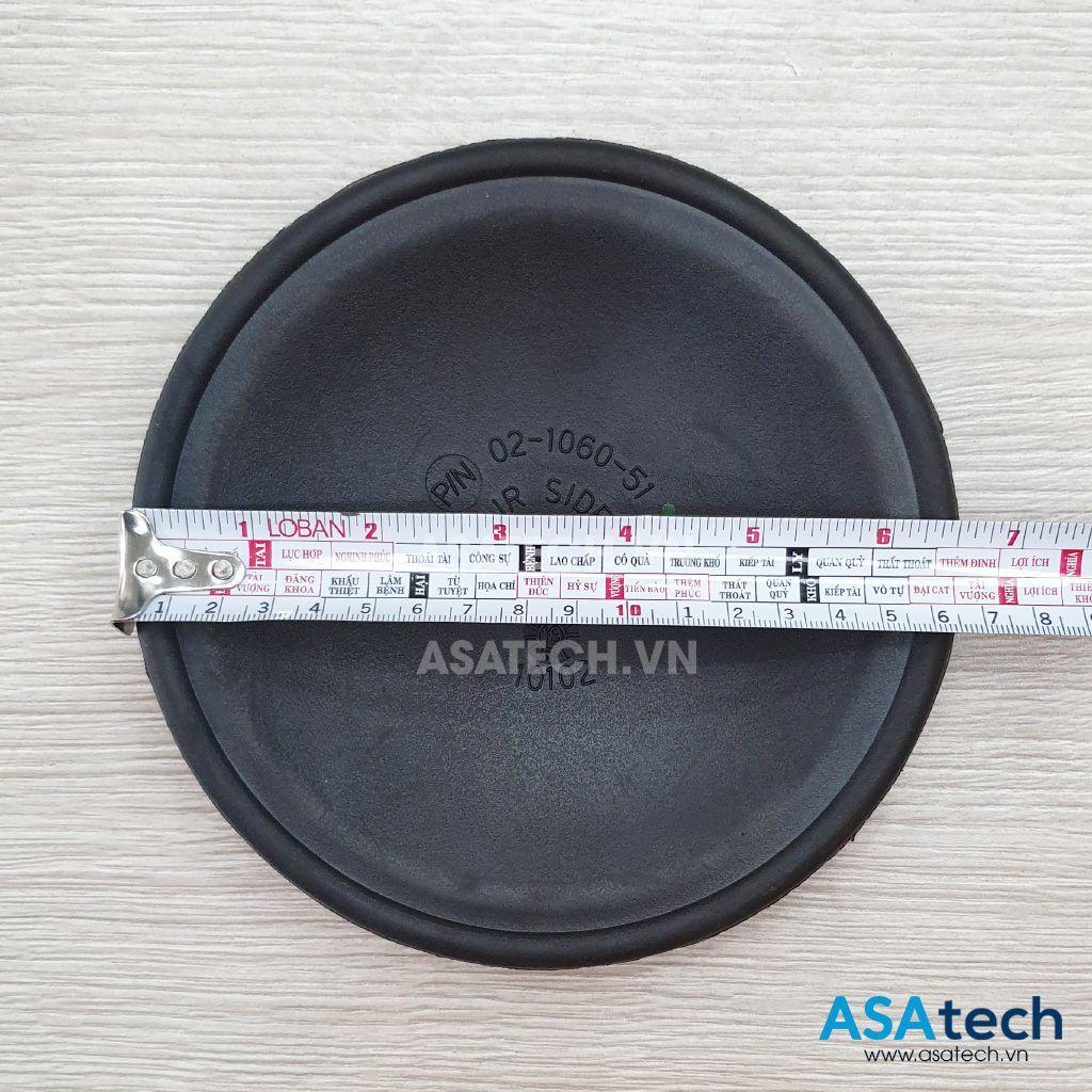 Màng backup 02-1060-51 có đường kính màng tổng thể 16.5cm