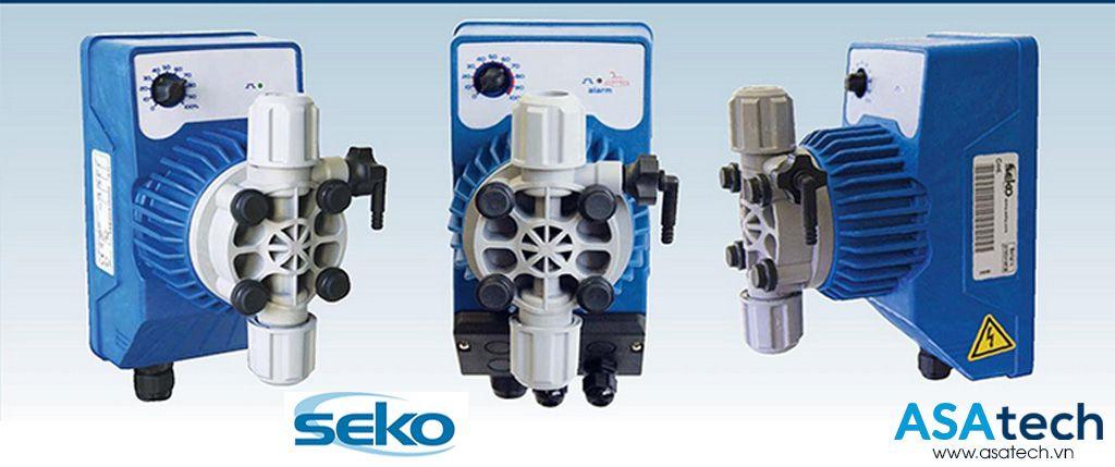 Bảng giá các dòng bơm định lượng hóa chất SEKO chính hãng