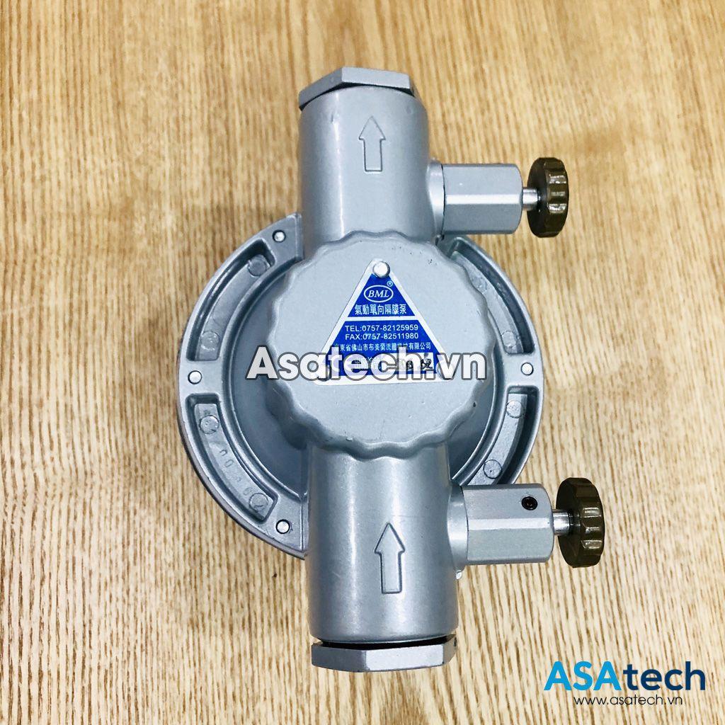 Bơm màng đơn BML-5 dùng để bơm mực in - BML One Way Pneumatic Diaphragm Pump