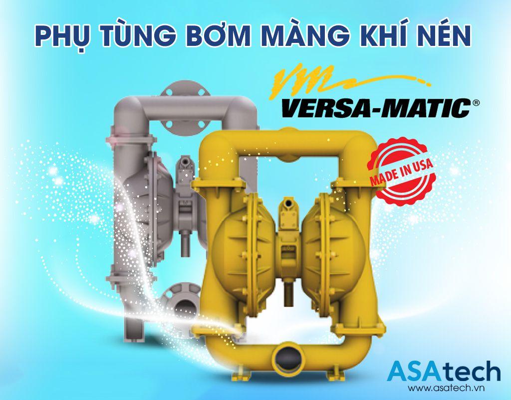 Nơi bán phụ tùng, phụ kiện máy bơm màng khí nén Versa-Matic