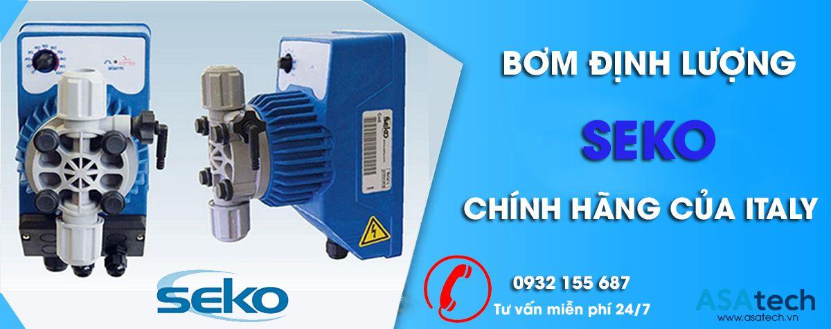 Công ty phân phối Máy bơm định lượng Seko chính hãng của Italy