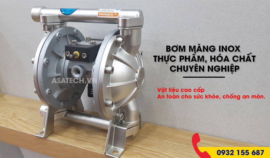 Đại lý máy bơm màng khí nén hóa chất tại Miền Nam.