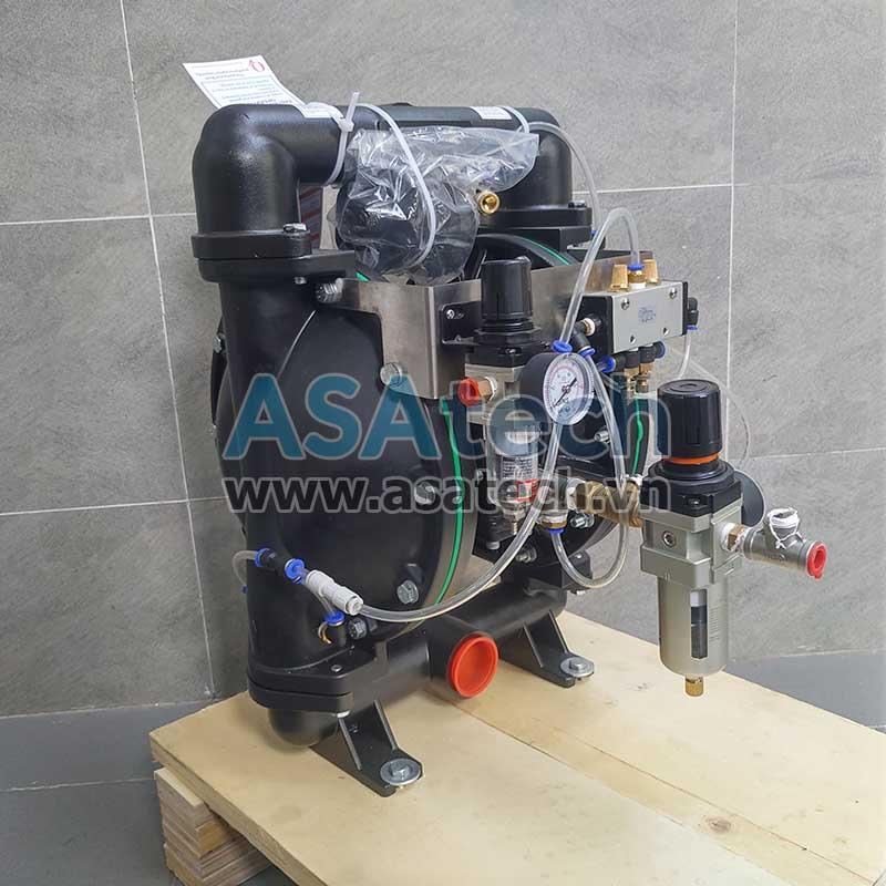 Mẫu máy bơm bột khí nén thương hiệu TDS
