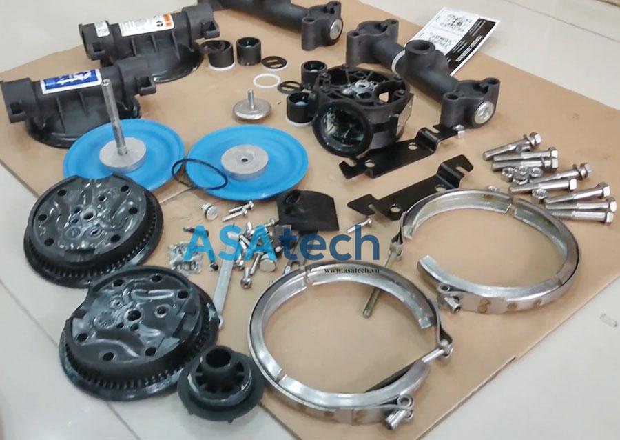 Liên hệ bộ phận kỹ thuật Asatech để được hỗ trợ dịch vụ sửa chữa bơm màng khí nén