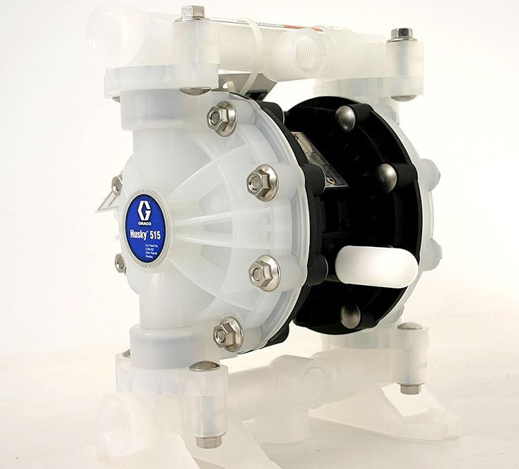 Bơm màng Husky 515 - Một trong những dòng máy bơm màng khí nén được ưa chuộng nhất của hãng Graco