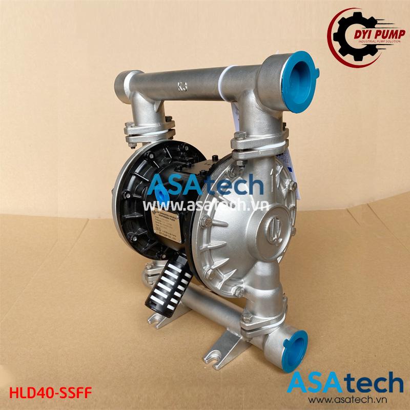 Máy bơm màng khí nén DYI HLD40-SSFF - Thương hiệu bơm hóa chất giá rẻ đến từ Đài Loan