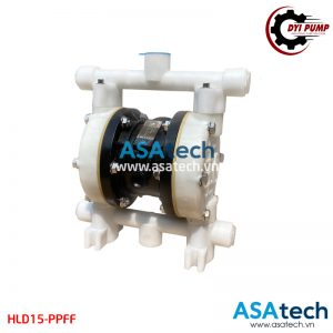 Bơm màng hóa chất bằng khí nén DYI HLD15-PPFF