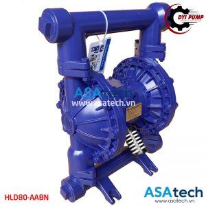 Máy bơm xử lý nước thải HLD80-AABN vỏ nhôm, kích thước lớn cho lưu lượng bơm lớn, đa ứng dụng trong bơm nước thải chưa qua xử lý, bơm bùn cho máy ép bùn công nghiệp