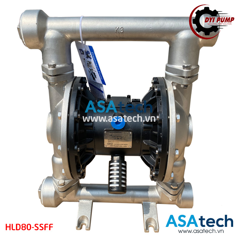 Máy bơm màng hóa chất khí nén DYI HLD80-SSFF
