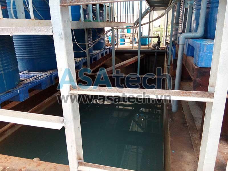 Bơm màng hóa chất có thể dùng để bơm nước thải xi mạ từ bể xi mạ sang bể xử lý nước thải