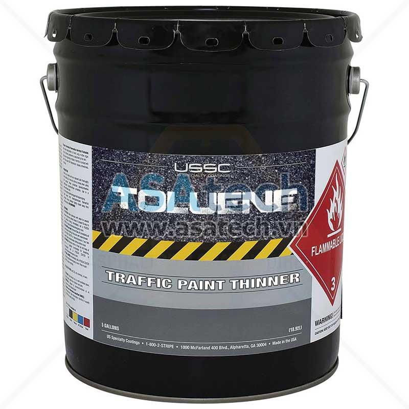 Toluene là một loại dung môi phổ biến sử dụng trong ngành sơn, sản xuất mực in, chất tẩy rửa...