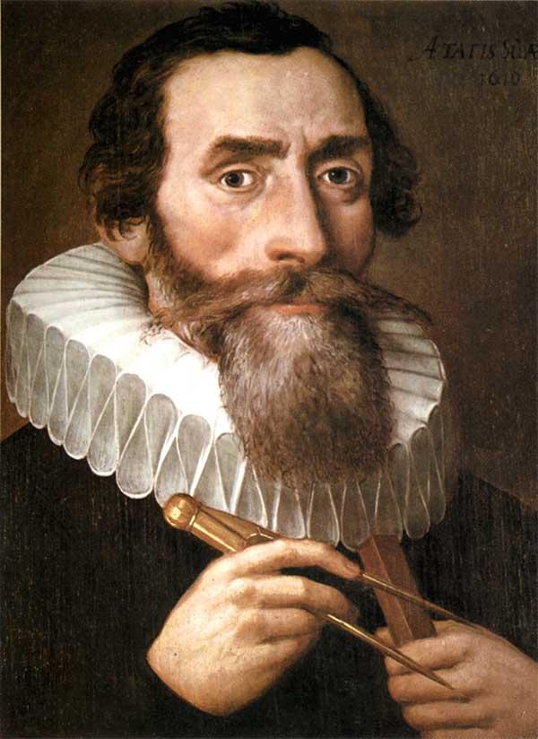 Johannes Kepler (sinh 27/12/1571 – mất 15/11/1630)