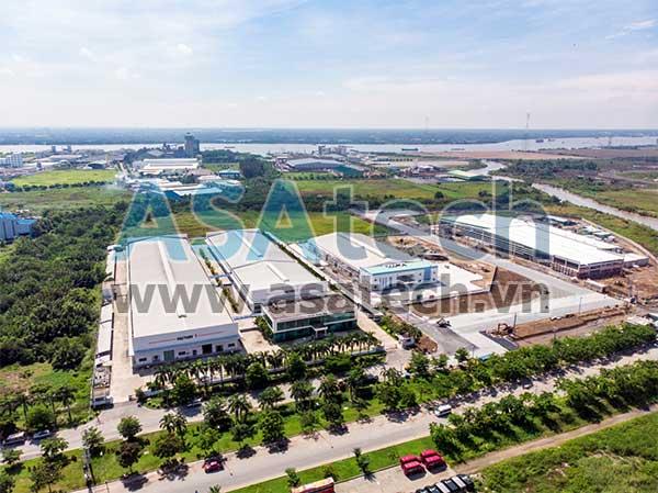 Các nhà máy trong KCN Hiệp Phước (TPHCM) là khách hàng quen thuộc chuyên mua các dòng bơm dung dịch đặc từ Công ty Cổ phần Asatek