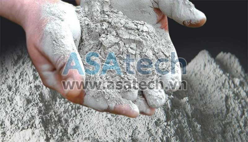 Xi măng bột - Một trong những loại bột khô có thể dùng máy bơm bột khí nén để bơm hút