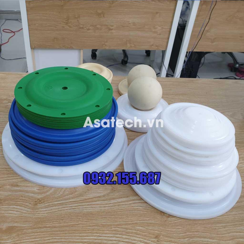 Lựa chọn màng bơm teflon để tránh nguy cơ phản ứng gây ăn mòn bởi axit