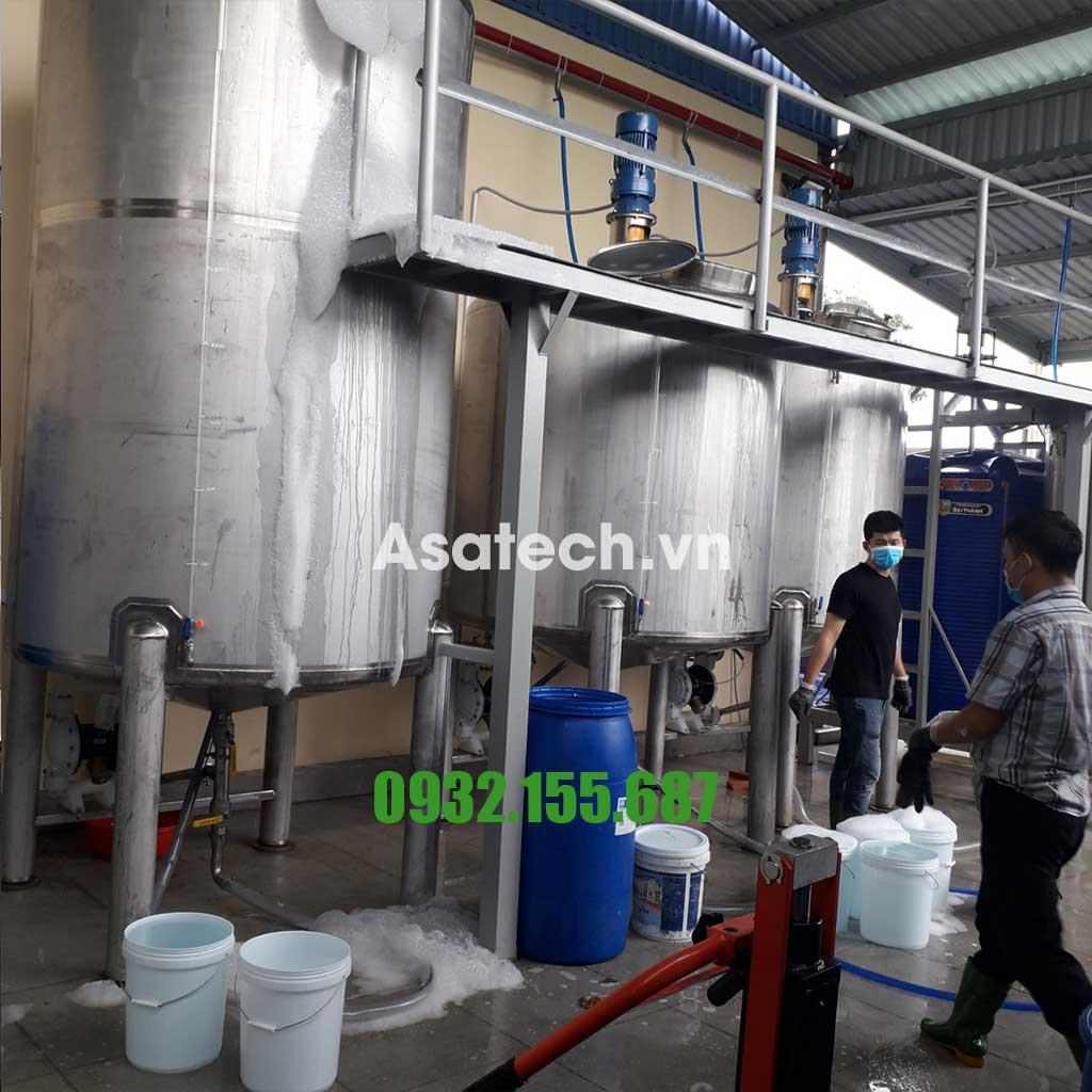 Máy bơm màng dùng bơm nước rửa chén