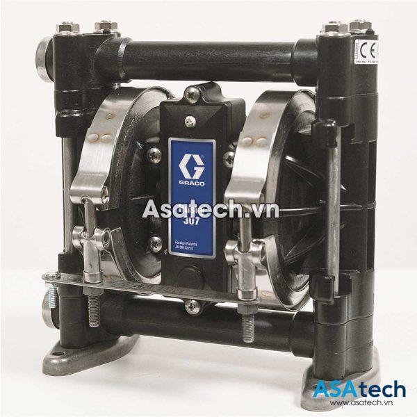 Máy bơm màng khí nén Husy 307 (3/8″, Acetal, Teflon) D31211