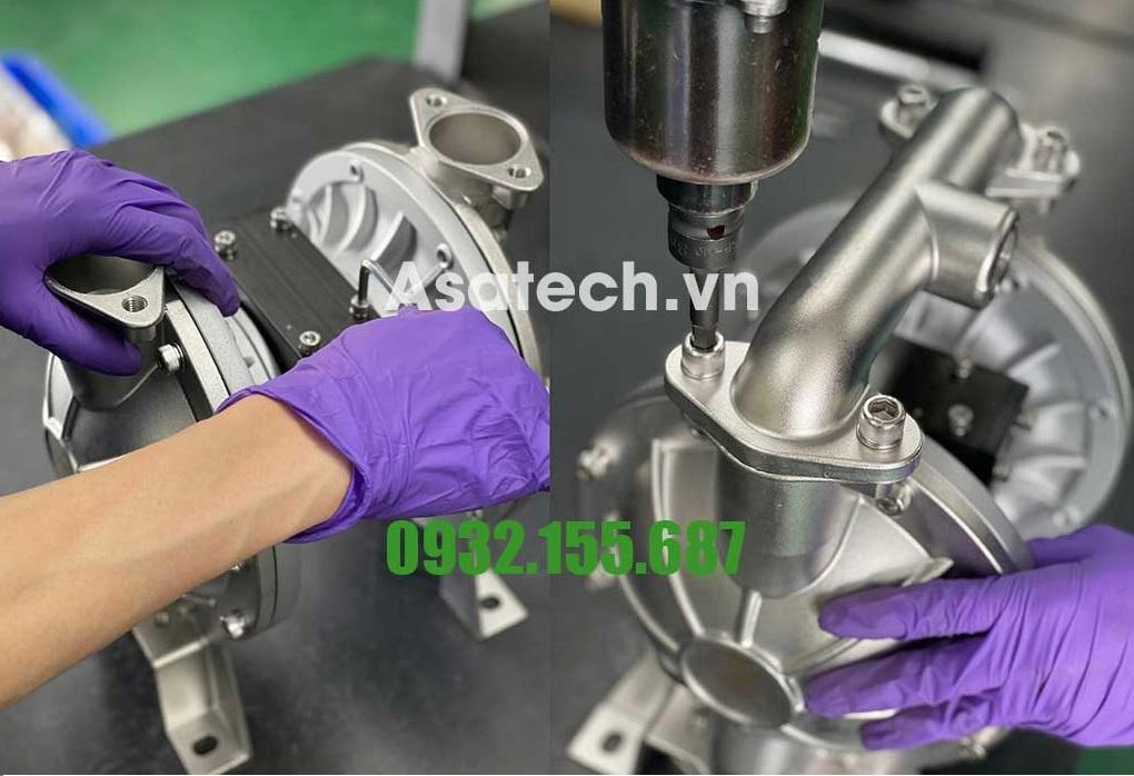 Sửa chữa bơm màng khí nén Đài Loan TDS