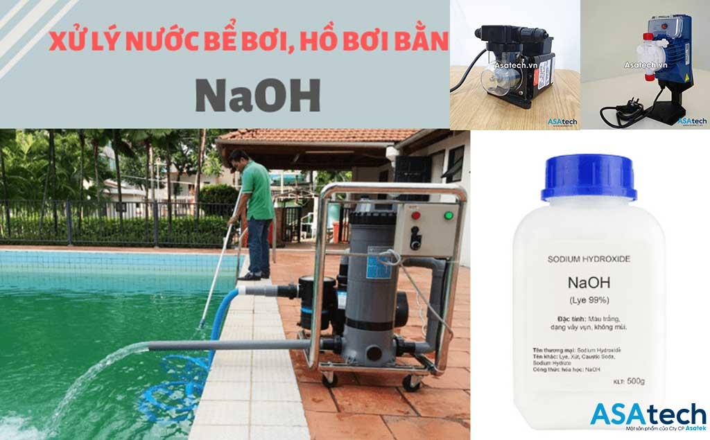 Bơm định lượng ứng dụng bơm hóa chất NAOH